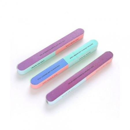 Pila pentru unghii cu 7 fete numerotate, 7 Step Nail Buffer5