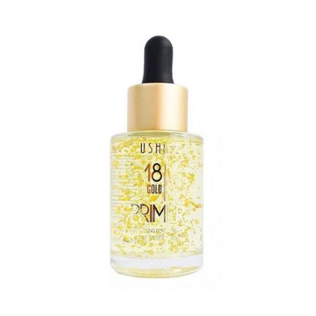 Baza de Machiaj cu Particule de Aur 18K PRIMER Ushas Vitamin Enriched, 35 ml