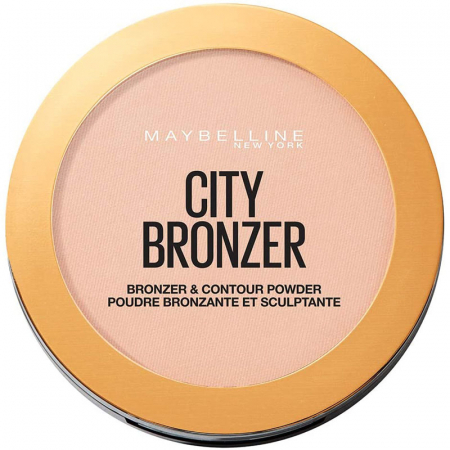 Pudra Bronzanta Maybelline New York City Bronzer & Contour, 150 Light Warm, 8 g0