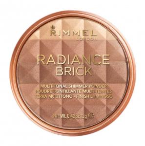 Pudra Bronzanta Rimmel Radiance Brick - 002 Medium, 12 gr