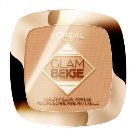 Pudra Bronzanta L'Oreal Paris Glam Beige Healthy Glow Powder, Light Clair, 9 g