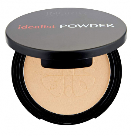 Pudra Compacta cu aspect mat Ingrid Cosmetics Idealist Powder, nr. 01, 7 g0