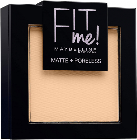 Pudra compacta Maybelline New York Fit Me Matte & Poreless Powder, 102 Fair Ivory0