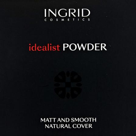 Pudra Compacta cu aspect mat Ingrid Cosmetics Idealist Powder, nr. 01, 7 g2