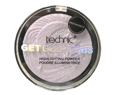 Iluminator Cu Particule Irizante Technic Get Gorgeous Highlighting Powder - Periwinkle, 12 gr0