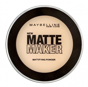 Pudra Maybelline Matte Maker, 010 Classic Ivory, 16 g
