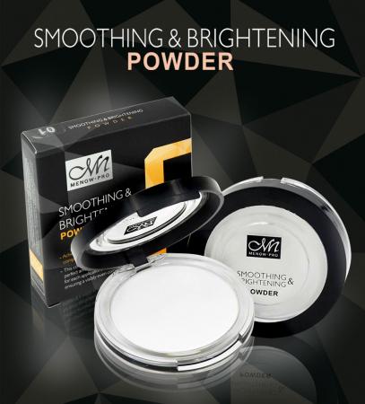 Pudra Translucida Profesionala pentru matifiere, fixare si luminozitate MENOW PRO HD Smoothing Powder, 10 g4