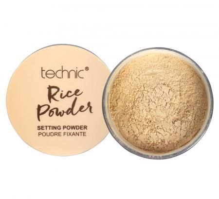 Pudra fixare machiaj, matifiere, anti-sebum, Technic Rice Setting Powder, 14 g0