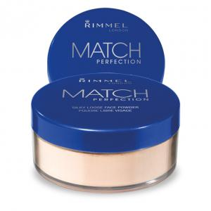 Pudra pulbere translucida RIMMEL Match Perfection Powder -  001 Transparent, 10g