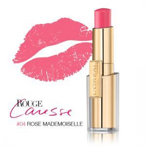 Ruj L'oreal Caresse - 04 Rose Mademoiselle