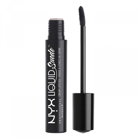 Ruj lichid mat NYX Professional Makeup Liquid Suede Cream, 24 Alien, 4 ml