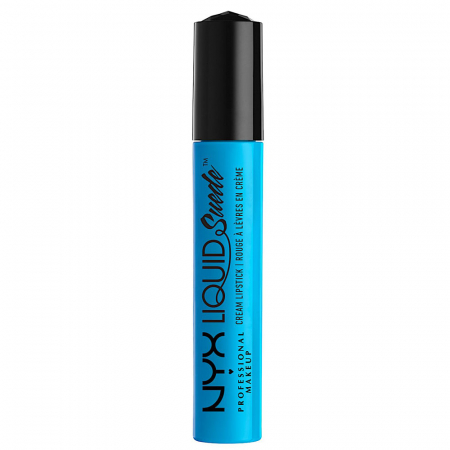 Ruj lichid mat NYX Professional Makeup Liquid Suede Cream, 16 Little Denim Dress, 4 ml2