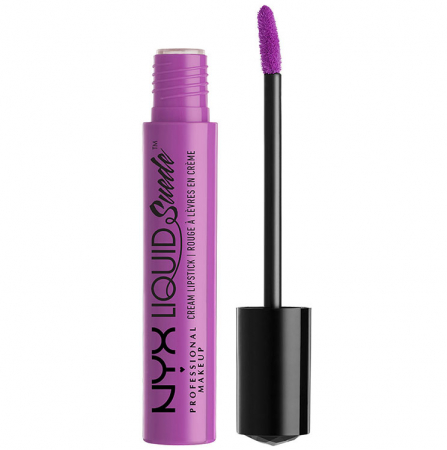 Ruj lichid mat NYX Professional Makeup Liquid Suede Cream, 06 Sway Emprise, 4 ml