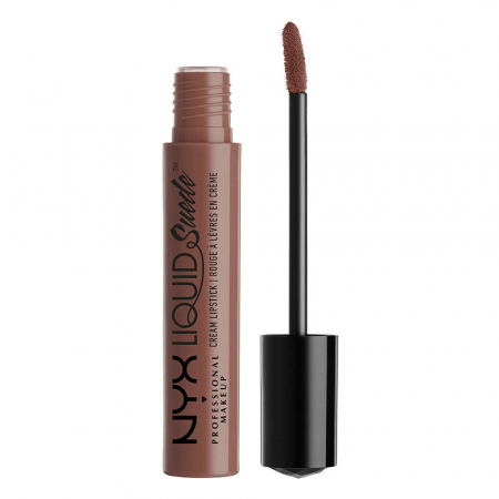 Ruj lichid mat NYX Professional Makeup Liquid Suede Cream, 21 Brooklyn Thorn, 4 ml