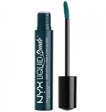 Ruj lichid mat NYX Professional Makeup Liquid Suede Cream, 42 Disruptive, 4 ml0