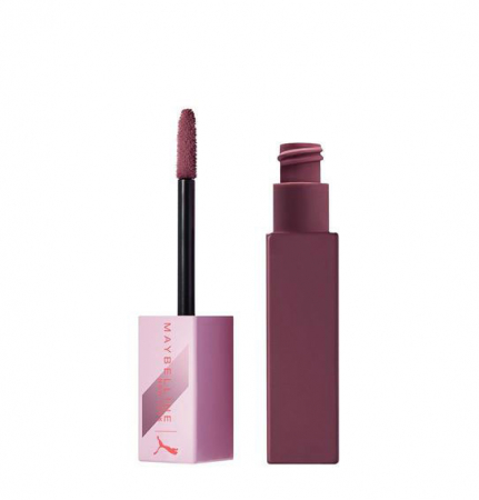 Ruj lichid mat rezistent la transfer Maybelline Puma SuperStay Matte Ink, 12 Unstoppable, 5 ml