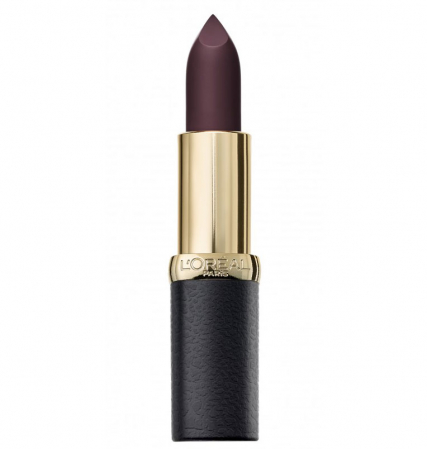 Ruj mat L'Oreal Paris Color Riche Matte Obsession, 473 Obsidian0