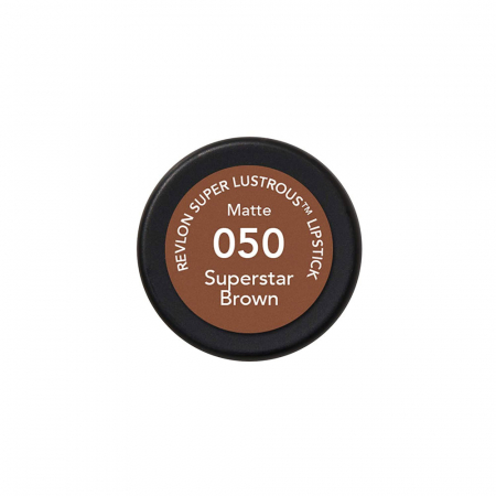 Ruj mat Revlon Super Lustrous Lipstick, 050 Superstar Brown, 4.2 g1