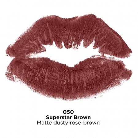 Ruj mat Revlon Super Lustrous Lipstick, 050 Superstar Brown, 4.2 g2