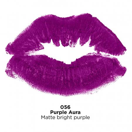 Ruj mat Revlon Super Lustrous Lipstick, 056 Purple Aura, 4.2 g3