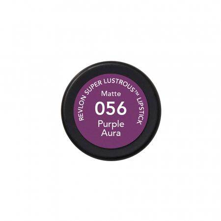 Ruj mat Revlon Super Lustrous Lipstick, 056 Purple Aura, 4.2 g2