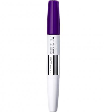 Ruj rezistent la transfer Maybelline New York Superstay 24H, 800 Purple3