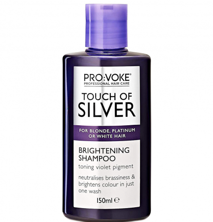 Sampon tratament profesional, nuantator, culoare argintiu, PRO:VOKE Professional Touch of Silver Colour, 150 ml