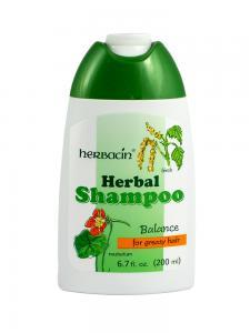 Sampon Pentru Par Gras Herbacin Cu Mesteacan-200 ml