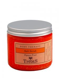 Sare Exfolianta pentru Corp TREETS cu Extract de Papaya - 200 ml