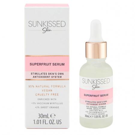 Ser Antioxidant cu Superfructe, SUNKISSED Superfruit Serum, 95% Ingrediente Naturale, 30 ml0