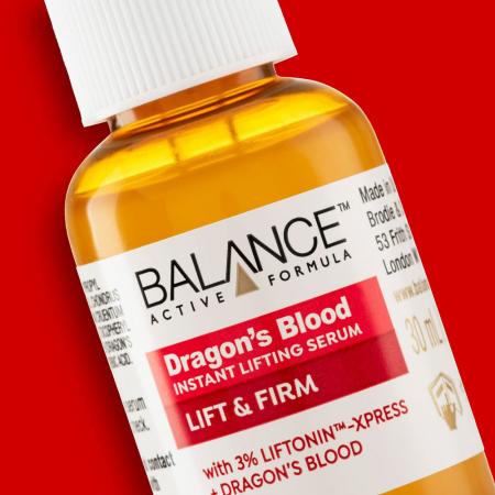 Ser facial anti-rid cu Sange de Dragon BALANCE ACTIVE Instant Lifting Serum, 30 ml2