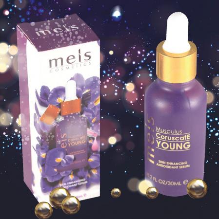 Ser Facial Antioxidant & Primer Meis Musculus Young pentru imbunatatirea aspectului pielii, Efect iluminator, 30 ml2