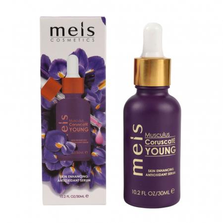 Ser Facial Antioxidant & Primer Meis Musculus Young pentru imbunatatirea aspectului pielii, Efect iluminator, 30 ml