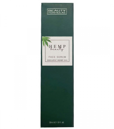 Ser facial cu Ulei Organic de Canepa BEAUTY FORMULAS Face Serum, 30 ml1