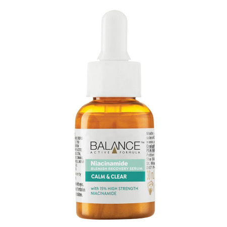 Ser facial anti-sebum cu Niacinamida BALANCE ACTIVE Blemish Recovery Serum, 30 ml1