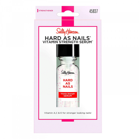 Ser tratament concentrat cu Vitamina A, C si E pentru intarirea unghiilor, Sally Hansen Hard as Nails,13.3 ml