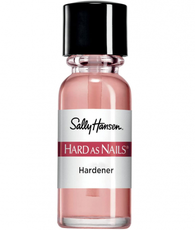 Ser tratament pentru intarirea unghiilor, Sally Hansen Hard as Nails, Natural, 13.3 ml