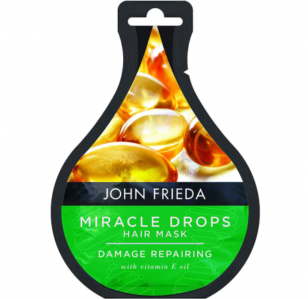 Masca tratament pentru par deteriorat JOHN FRIEDA Miracle Drops Damage Repairing Hair Mask, 25 ml