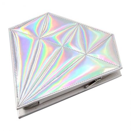 Trusa Profesionala Cu 10 Pensule De Machiaj Unicorn Diamond - Rose Gold3