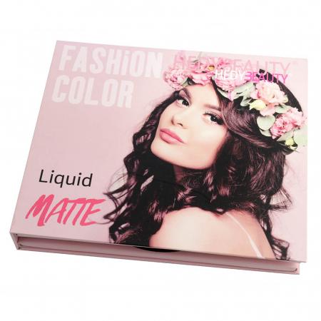 Set 16 Rujuri Lichide Mate FASHION COLOR Liquid Matte, Nude & Roses