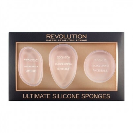 Set 3 Bureti Silicon Makeup Revolution Ultimate Silicone Sponges0
