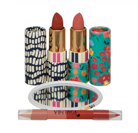 Set Cadou pentru Buze Body Collection Vintage Lips Set1
