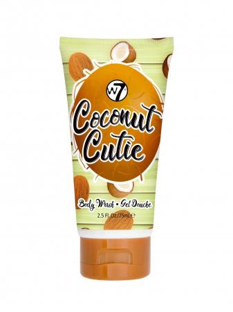 Set cu Lotiune de corp, Spray de corp si Gel de dus cu COCOS, W7 Travel Set Trio Coconut Cutie, 75 ml x 90 ml x 75 ml4