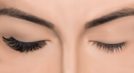 Set Gene False simple de Tip Banda, Eyelashes 9-61