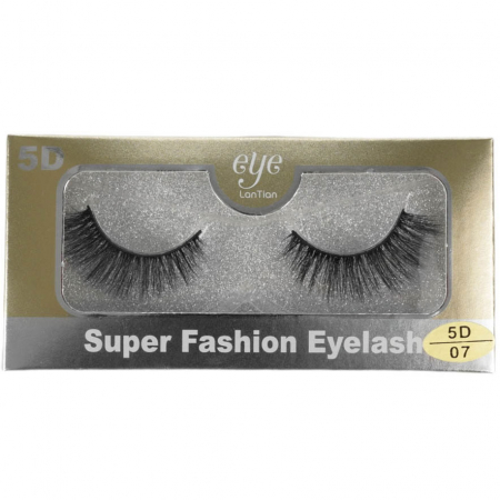 Set Gene False cu Efect 5D Super Fashion Eyelash, 07