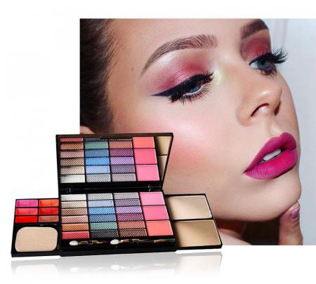 Set machiaj L'Chear Makeup Kit COLORFUL, 32 piese4