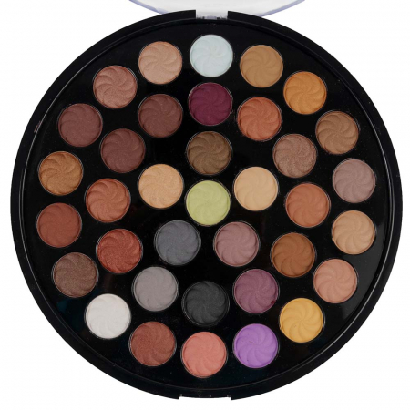 Paleta 36 Farduri Kiss Beauty, Fashion Color Eyeshadow, 60 g