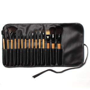 Set de 15 Pensule Profesionale pentru machiaj Top Quality Natural Wood2