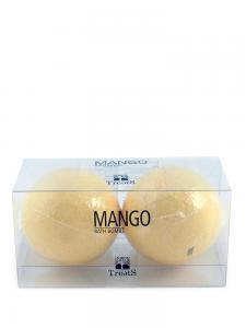 Set 2 Bile Efervescente de Baie TREETS cu Mango - 2 x 180 gr