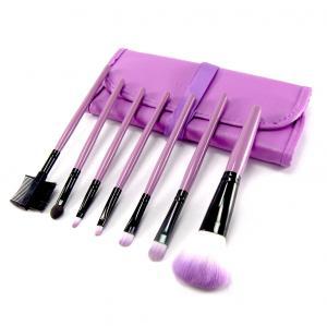 Set 7 Pensule Profesionale Luxury pentru Machiaj - Purple Addicted2